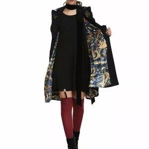 Doctor Who Hot Topic BBC Tardis Coat  Size XS